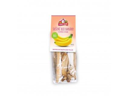 Sušené banány 100gr sport